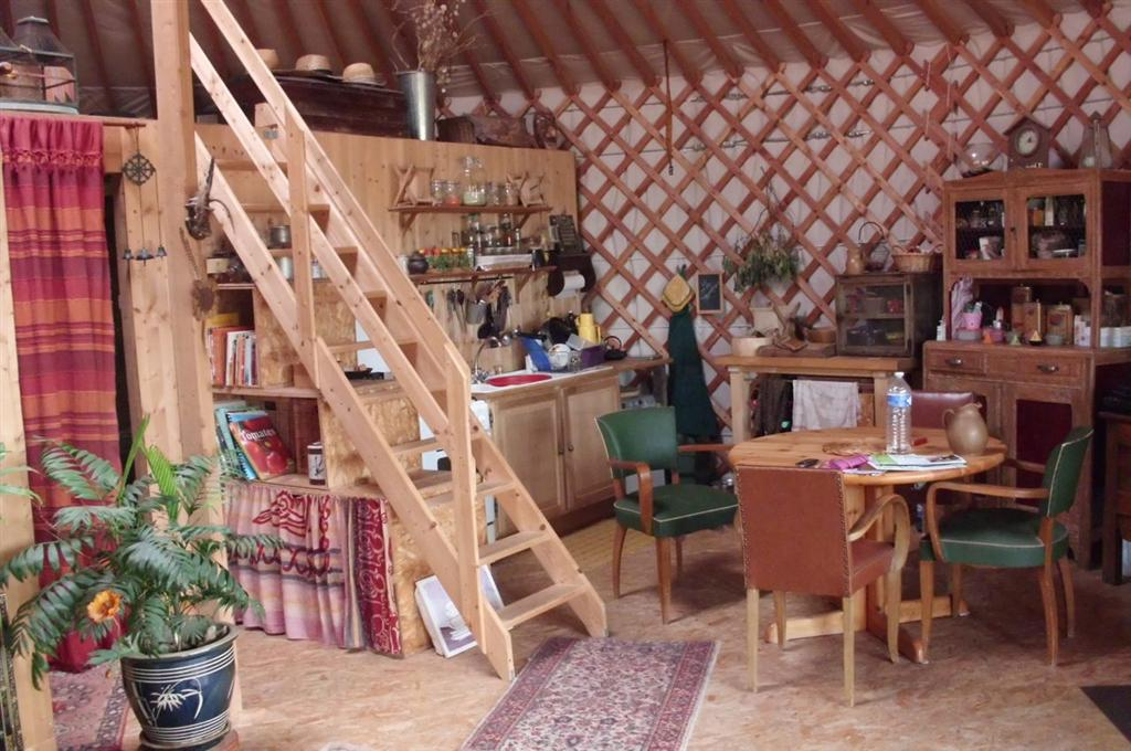 Aménagement Yourte yourte normande de 70 m2